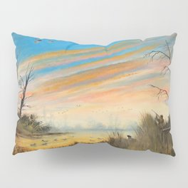 Evening Duck Hunters Pillow Sham