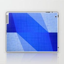 Lapis Lazuli Shapes - Cobalt Blue Abstract Laptop & iPad Skin
