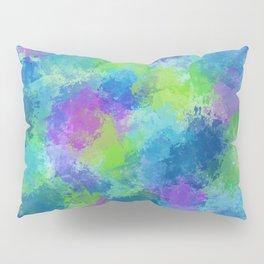 Hydrangeas Abstract Pillow Sham