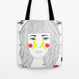Crying Lightning by Arctic Monkeys inspired Tote Bag