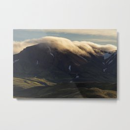 Iceland Sunrise Metal Print