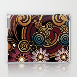 Colors and volutes Jacob's fashion Paris Laptop & iPad Skin