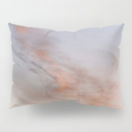 Ethereal Sunset – Cloudscape Pillow Sham