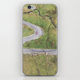 Hairpin bends on Glengesh Pass, Donegal iPhone Skin