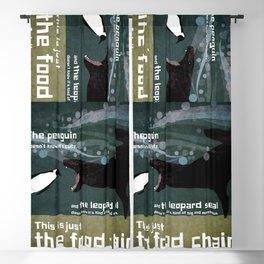 food chain 3 Blackout Curtain