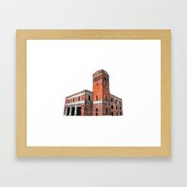 FIRE STATION NO. 3 Framed Art Print