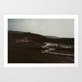 Iceland - Varúð (Leica M3 & Kodak film) Art Print