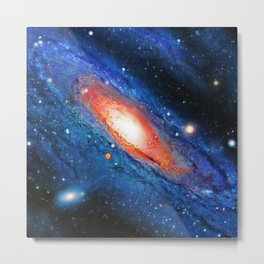 Galaxy Art (Paradise) Metal Print