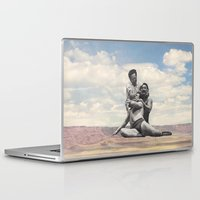 wrestling Laptop & iPad Skins featuring Pink Rocks Wrestling by Neil Campau
