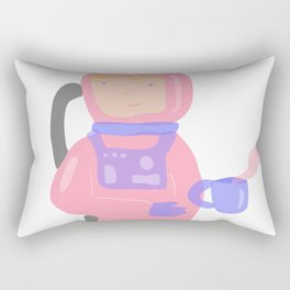 No Gravity took my coffee away Rectangular Pillow