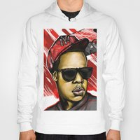 jay z Hoodies featuring Jay Z by C.Love Designs