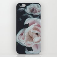 vintage flowers iPhone & iPod Skins featuring Vintage Flowers by C O R N E L L