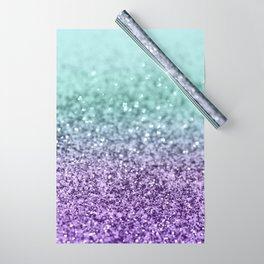 Mermaid Girls Glitter #9 #shiny #decor #art #society6 Wrapping Paper