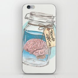 Handle with Care iPhone Skin