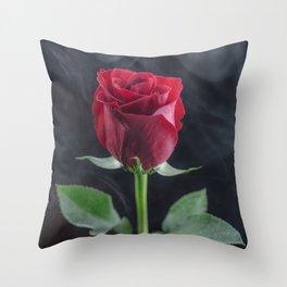 Smokin Rosie Throw Pillow