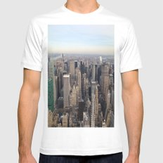New York I love you Mens Fitted Tee White MEDIUM