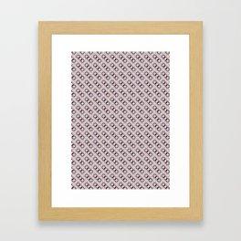 Geometric Pattern #011 Framed Art Print
