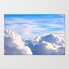 Clouds of Cream Canvas Print