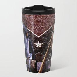 Confederacy Cannon And Flag Travel Mug