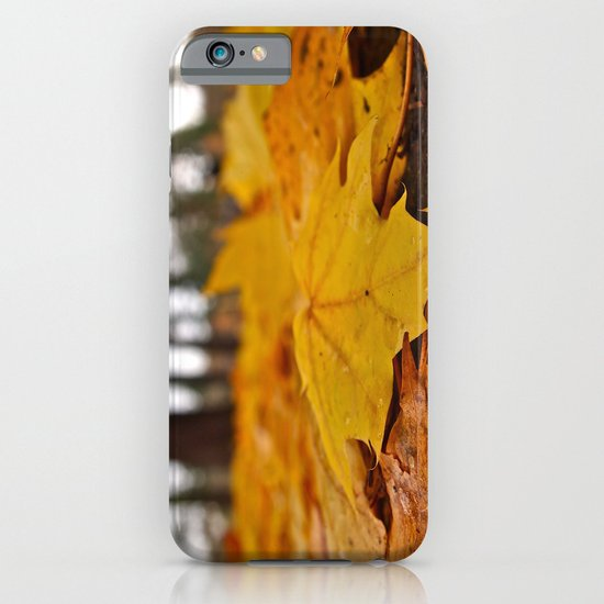 Golden leaves iPhone & iPod Case