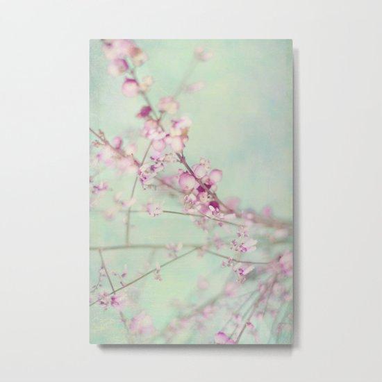 Pink Symphony Metal Print
