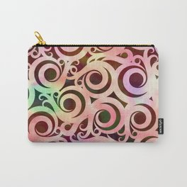 Softly Colored Swirls Carry-All Pouch