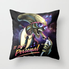 It Ain't Personal Throw Pillow
