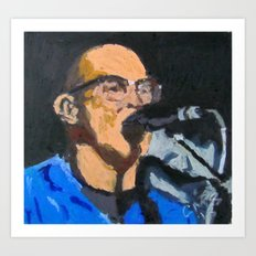 Portrait of Tom Beyer Art Print