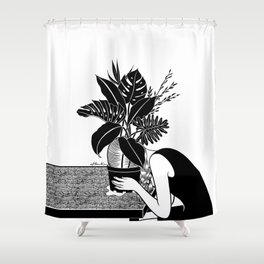 Tragedy makes you grow up Shower Curtain