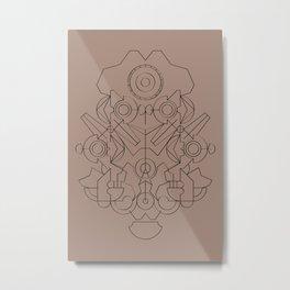 blpm165 Metal Print