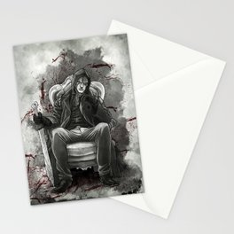The half breed Mr. Quinlan Stationery Cards