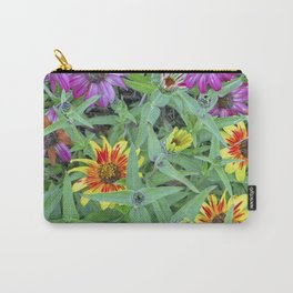 Flower Jamboree Carry-All Pouch