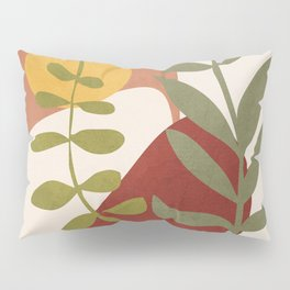 Two Abstract Branches Pillow Sham