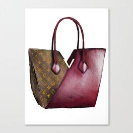 LV bag Canvas Print