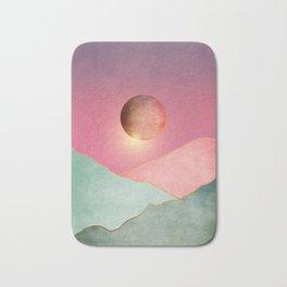 Surreal sunset 02 Bath Mat