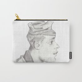 Head of a peasent Carry-All Pouch