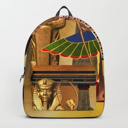 Wonderful egyptian women Backpack