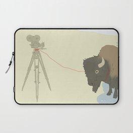 Bison & Camera Laptop Sleeve