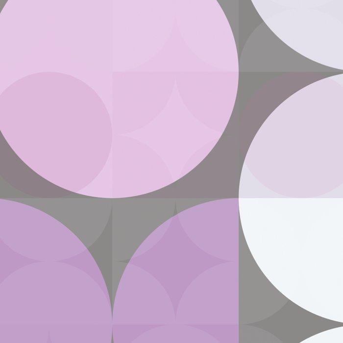 pink grey circular pattern Leggings