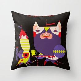 One against the Other  -  (l'Un contro l'Altro armato) Throw Pillow