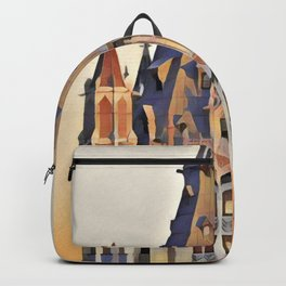 NYC Woolworth Building - Gothic Architecture Backpack