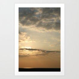 Hoylake Sunset Art Print