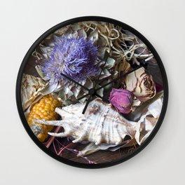 FLORAL STILL LIFE - Autumn Feeling Wall Clock