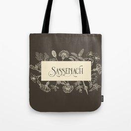 Sassenach in Sepia Tote Bag
