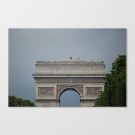 Arc De Triomphe 2 Canvas Print