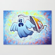 Ghost Ironing Nightmare Canvas Print