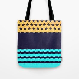 My US Flag & Jeans Tote Bag