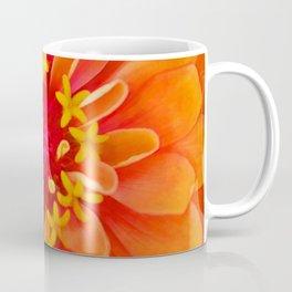 Orange Zinnia Coffee Mug