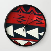 new zealand Wall Clocks featuring NEW ZEALAND by K. Ybarra/FotoHAUS
