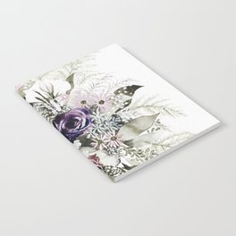 Purple Bouquet Notebook